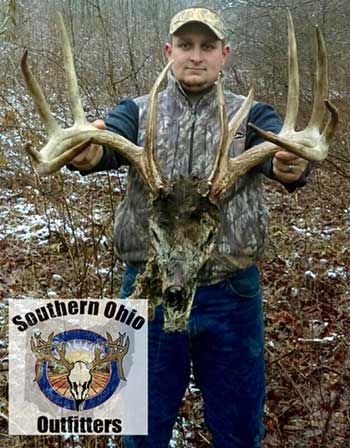 Deer skull found tangled up in fenching